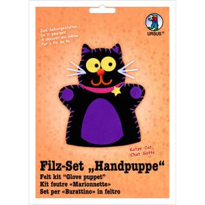 "Filz-Set ""Handpuppe"" Katze"