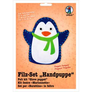 "Filz-Set ""Handpuppe"" Pinguin"