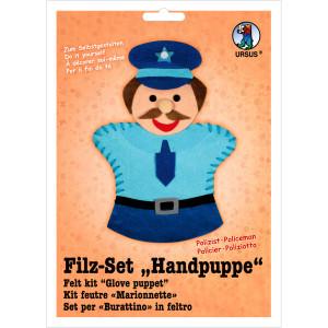 "Filz-Set ""Handpuppe"" Polizist"