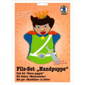 """Filz-Set """"Handpuppe"""" Prinz"""