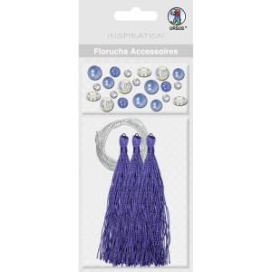 Florucha Accessoires dunkelblau
