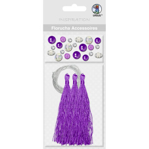 Florucha Accessoires violett