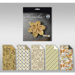 "Florucha ""Amber"" 80 g/qm 5 Designs"
