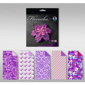 """Florucha """"Amethyst"""" 80 g/qm 5 Designs"""