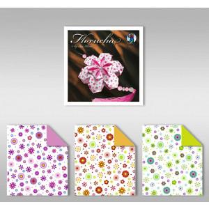 "Florucha ""Mille fleurs"" 80 g/qm 3 Designs"