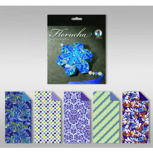 """Florucha """"Sapphire"""" 80 g/qm 5 Designs"""