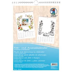 Foto- und Ausmalkalender DIN A4