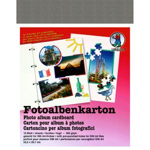 Fotoalbenkarton 300 g/qm 23,2 x 29,7 cm - 10 Blatt