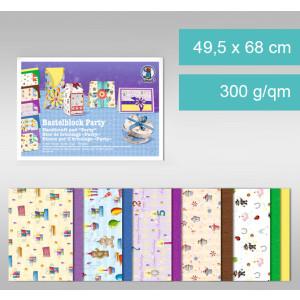 "Fotokarton ""Party"" 49,5 x 68 cm - 10 Bogen"