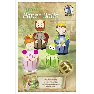 "Funny Paper Balls ""Der Froschkönig"""