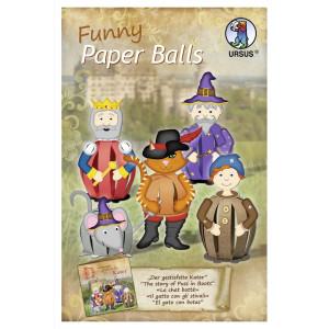 "Funny Paper Balls ""Der gestiefelte Kater"""