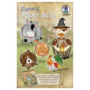 "Funny Paper Balls ""Die Bremer Stadtmusikanten"""