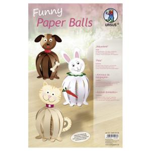 "Funny Paper Balls ""Haustiere"""