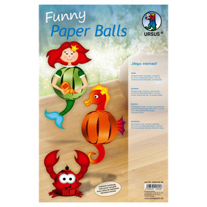 "Funny Paper Balls ""Magic Mermaid"""
