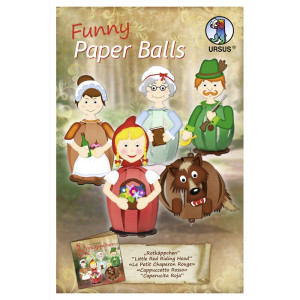 "Funny Paper Balls ""Rotkäppchen"""