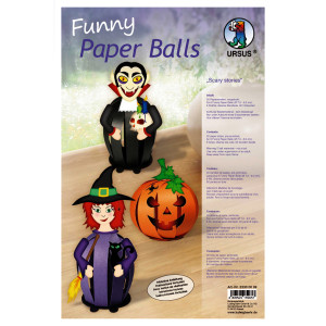 "Funny Paper Balls ""Scary stories"""