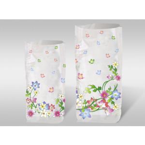 """Geschenk-Bodenbeutel """"Blumenranke"""" groß"""