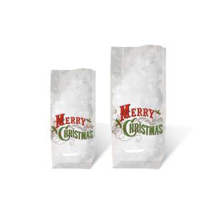 """Geschenk-Bodenbeutel """"Frohe Weihnachten"""" 11,5 x 19,0 cm - 10 Stück"""