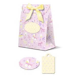 """Geschenkbox """"Celina"""" Baby rosa"""