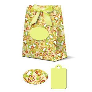 "Geschenkbox ""Celina"" Happy Garden hellgrün"