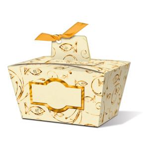 """Geschenkbox """"Joanna"""" gold Fisch - Motiv 01"""