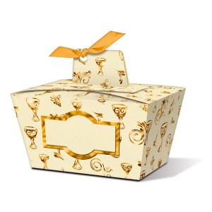 "Geschenkbox ""Joanna"" gold Kelch - Motiv 02"