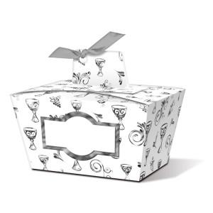 """Geschenkbox """"Joanna"""" silber Kelch - Motiv 05"""
