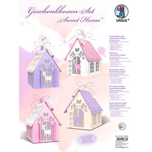"""Geschenkboxen & Deko-Set """"Sweet Home"""" Bambi"""