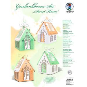 """Geschenkboxen & Deko-Set """"Sweet Home"""" Bunny"""