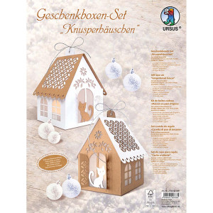 "Geschenkboxen-Set ""Knusperhäuschen"""