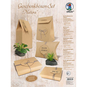 "Geschenkboxen-Set ""Natura"""