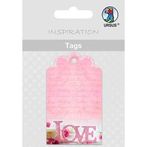 Geschenkeanhänger / Tags Motiv 06 - LOVE