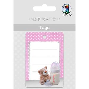 Geschenkeanhänger / Tags Motiv 07 - Baby Girl