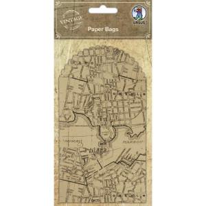 """Geschenktaschen """"Paper Bags"""" Stadtkarte"""