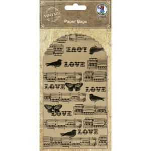 """Geschenktaschen """"Paper Bags"""" Vögel & Schmetterlinge"""