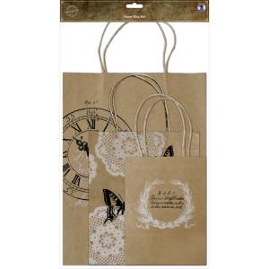 """Geschenktüten-Set """"Paper Bag Set"""" mit Henkel"""