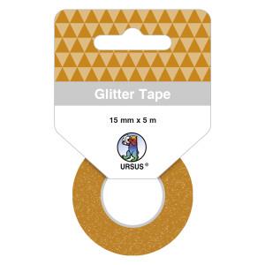 Glitter Tape bronze, selbstklebend