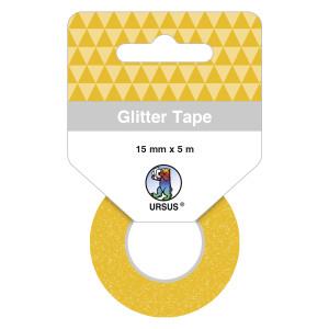 Glitter Tape dunkelgold, selbstklebend
