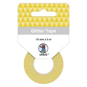 Glitter Tape gold, selbstklebend