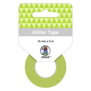 Glitter Tape hellgrün, selbstklebend