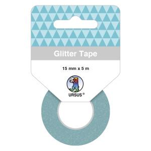 Glitter Tape himmelblau, selbstklebend