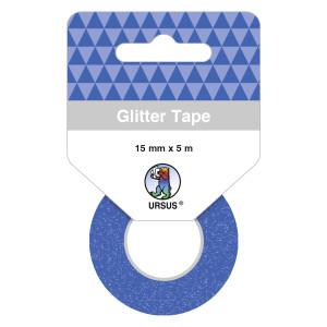 Glitter Tape königsblau, selbstklebend