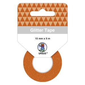 Glitter Tape kupfer, selbstklebend