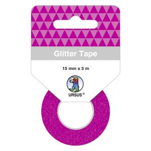 Glitter Tape pink, selbstklebend