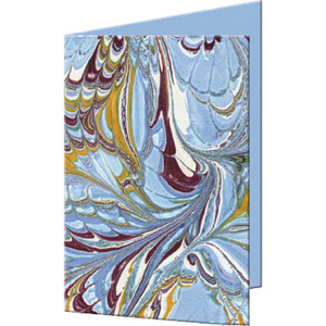 """Grußkarten """"Art"""" mit Kuverts 113 x 165 mm hellblau"""