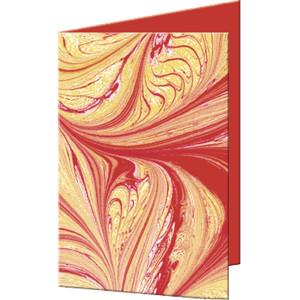 "Grußkarten ""Art"" mit Kuverts 113 x 165 mm rubinrot"