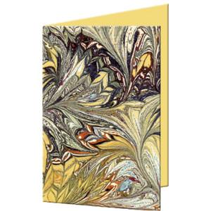 """Grußkarten """"Art"""" mit Kuverts 113 x 165 mm schwarz"""