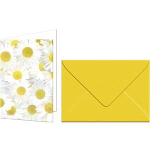 """Grußkarten """"Flora"""" mit Kuverts Margeriten"""