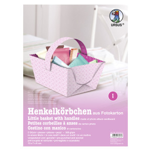 "Henkelkörbchen ""Joline"" rosa"