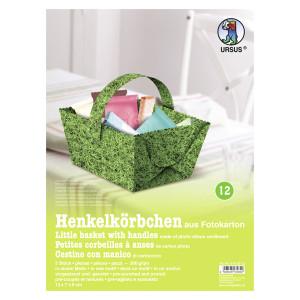 "Henkelkörbchen ""Rasen"""